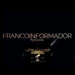 Francoinformador: premio al mejor podcast de noticias.