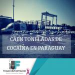 Paraguay realiza la mayor incautación de cocaína en su historia.