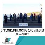 El G7 más de 2000 millones de vacunas.
