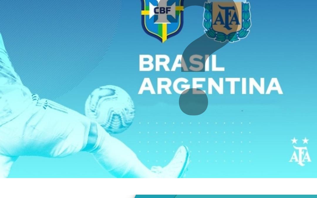 Escándalo en el Brasil vs Argentina. ¿Cómo se soluciona?