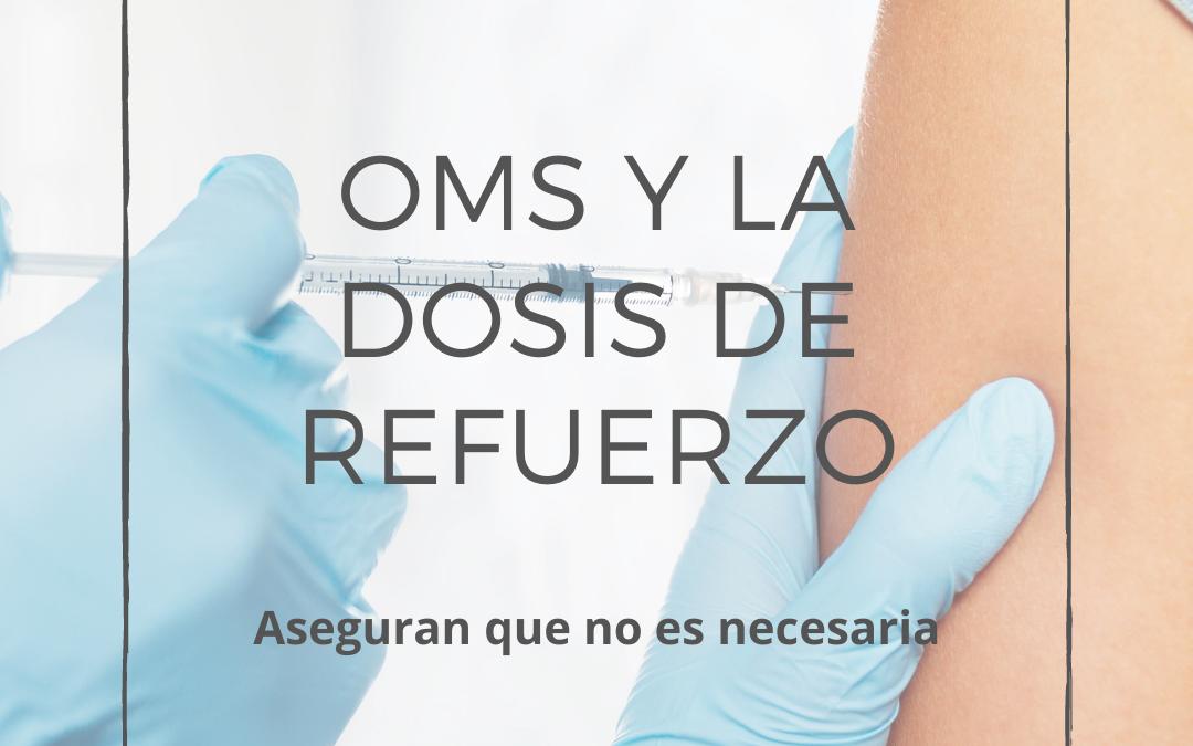 ¿Es necesaria la dosis de refuerzo de la vacuna anti Covid-19?
