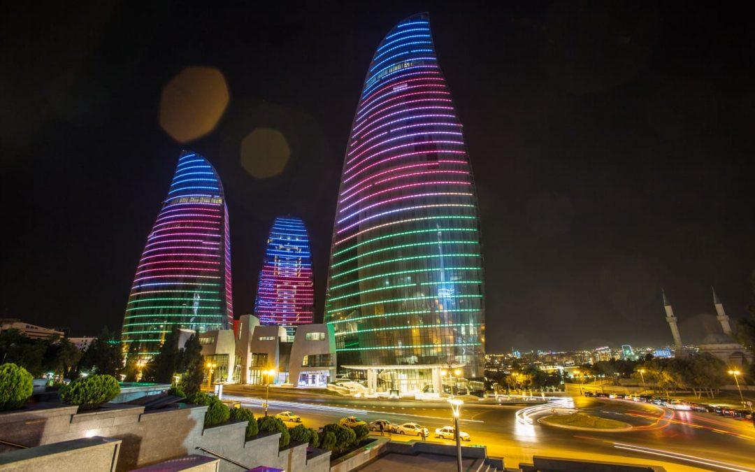 Azerbaiyán recuerda su independencia.